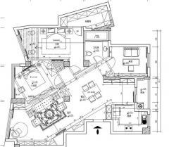 2013泰州坡子街5栋1502套房设计