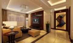 紫金华府108平米现代中式——浩宇装饰