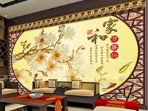 客厅背景墙展示