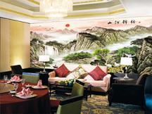 中式古典背景墙