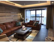 鹏欣领誉现代简约风格140平三室两厅