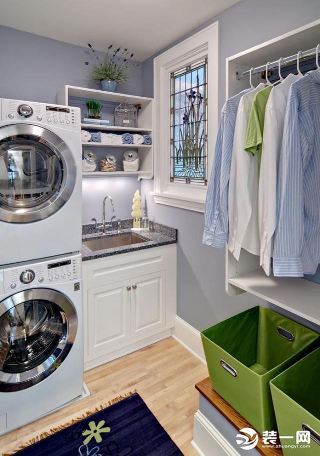 2019装修风格流行趋势--独立洗衣房图片