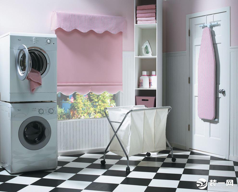2019装修风格流行趋势--别墅家庭洗衣房图片