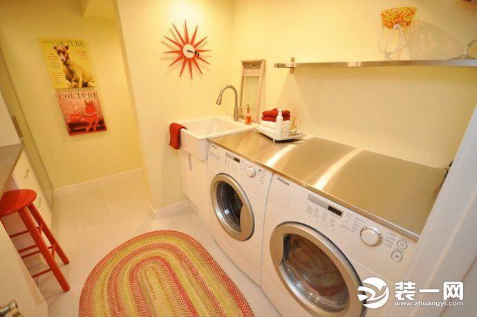 2019装修风格流行趋势--普通家庭洗衣房